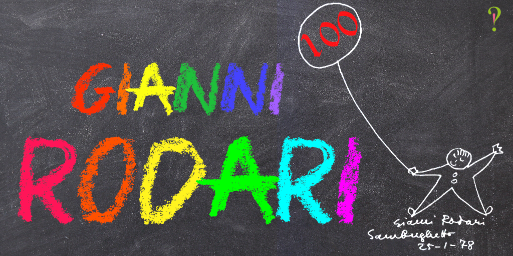 Gianni Rodari: una rima tira l'altra